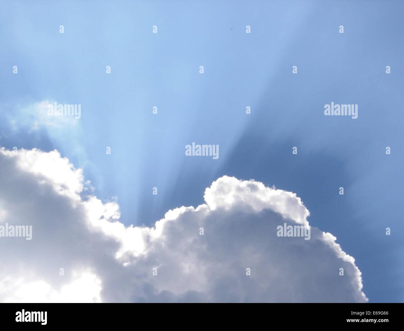 sky,cloudscape - Stock Image