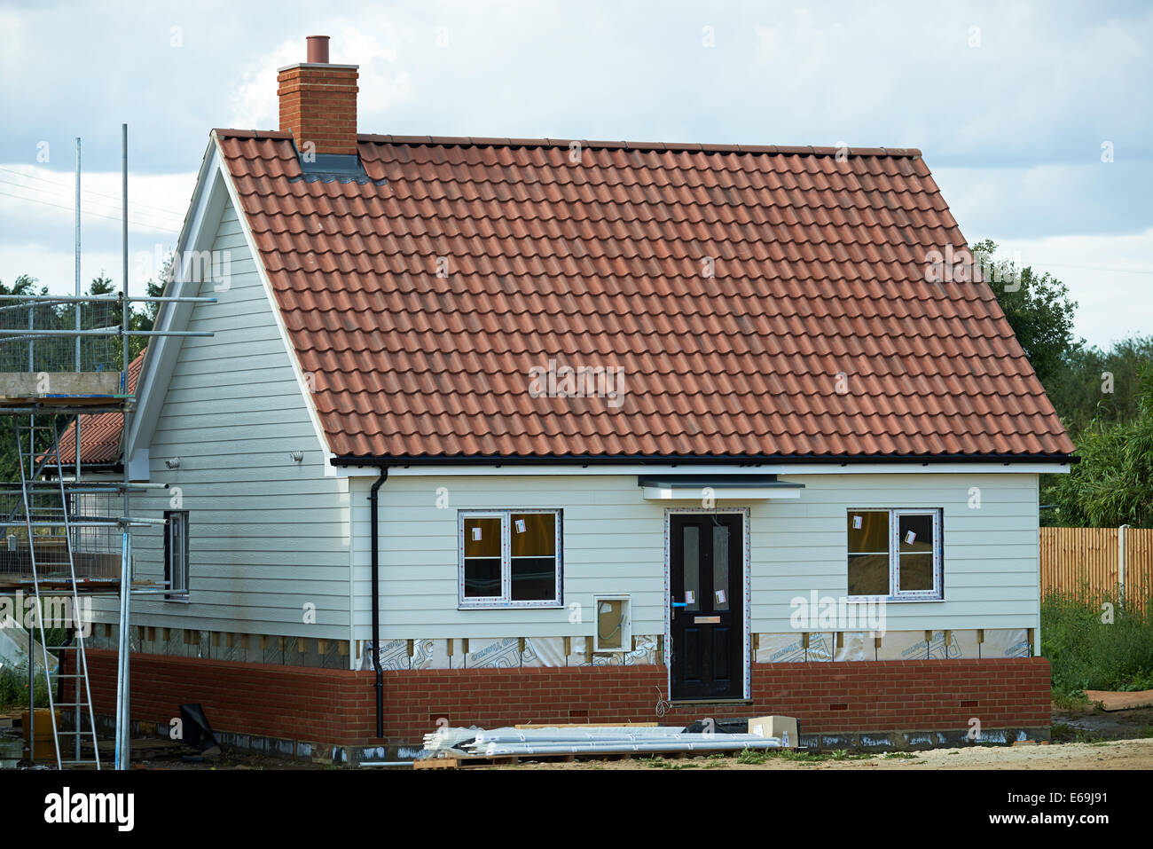 Flagship Housing Building Affordable Homes Sutton Suffolk Uk
