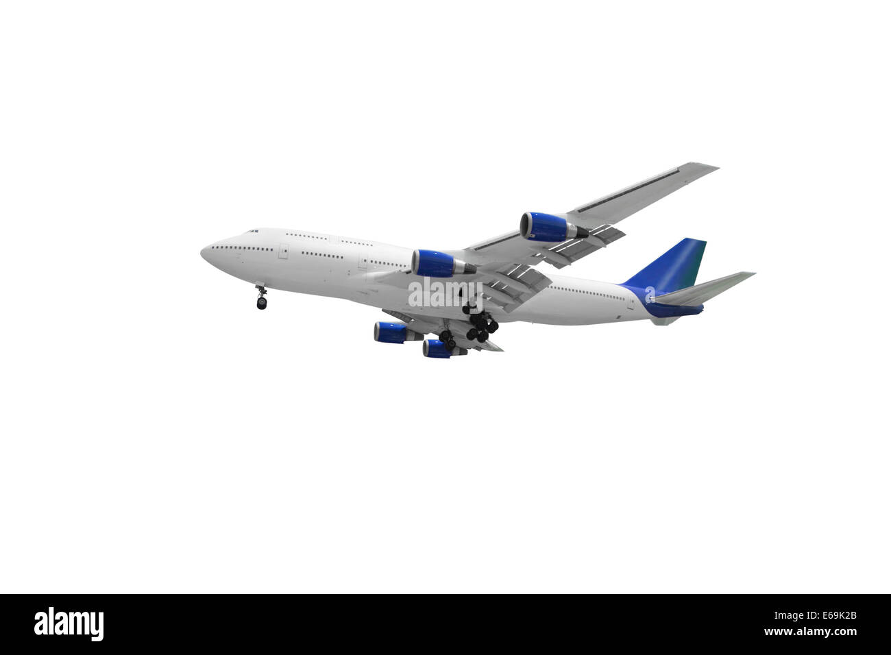 airplane,commercial airplane - Stock Image