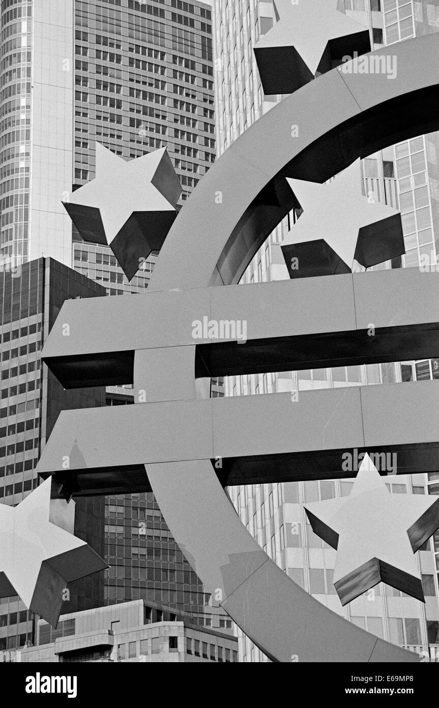 europe,euro,currency,european central bank - Stock Image