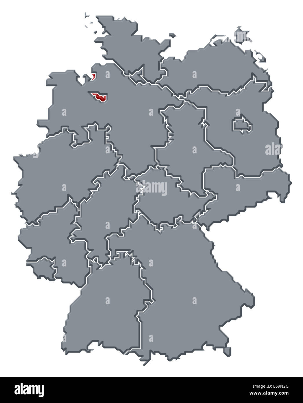 germanybremengermany map