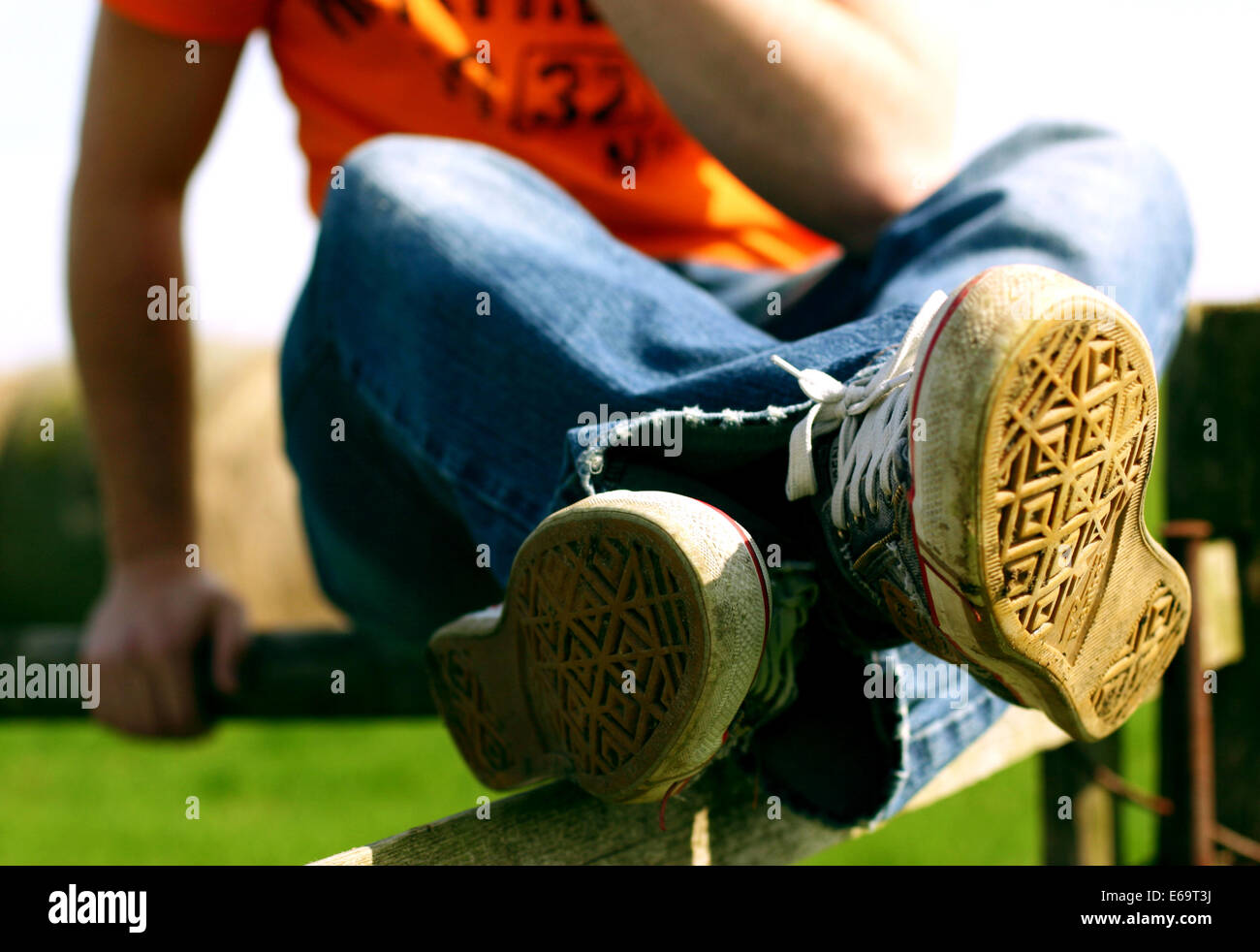 lifestyle,fashion,accessories,sport shoes - Stock Image