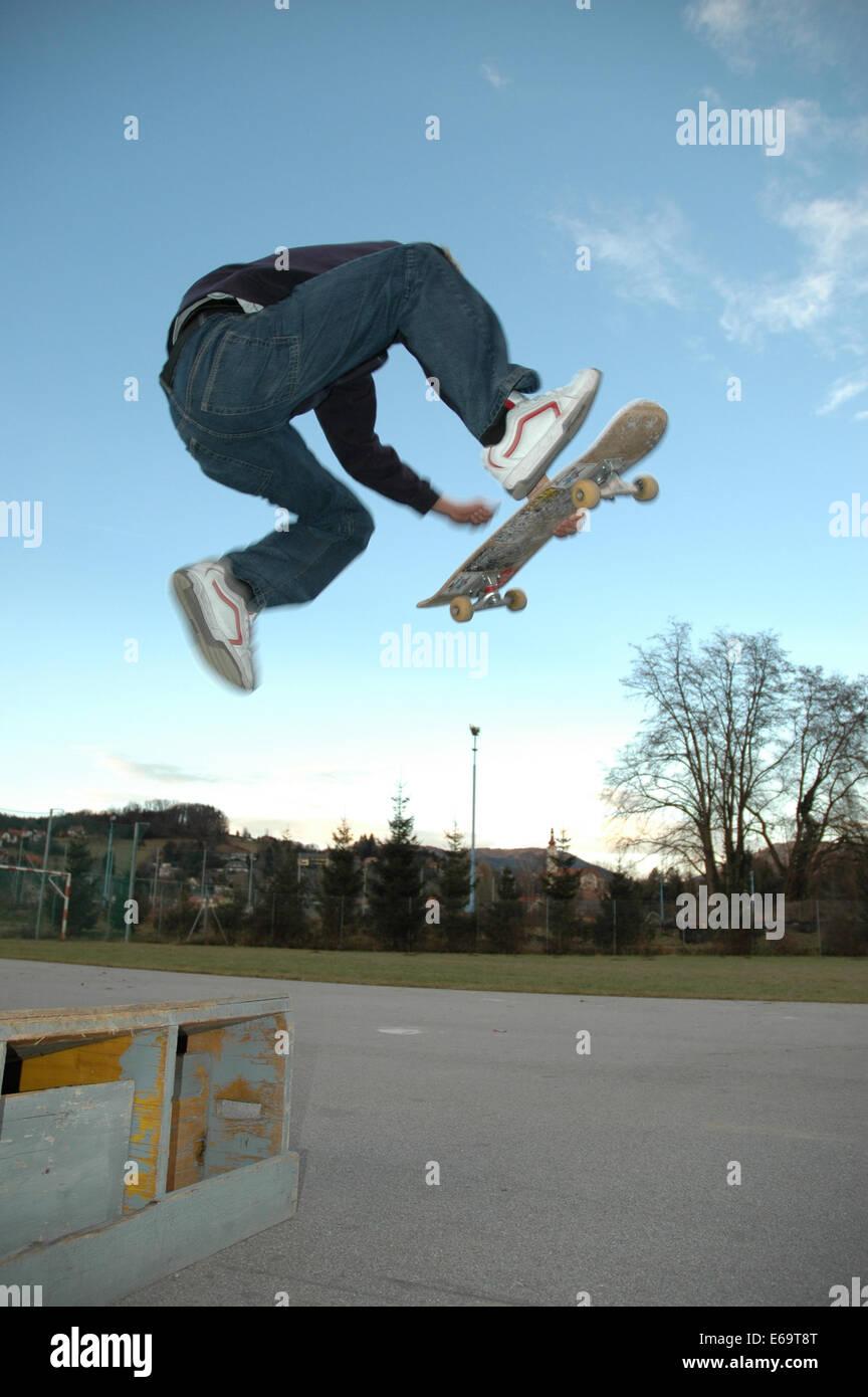Skater,jump,skating   Stock Image