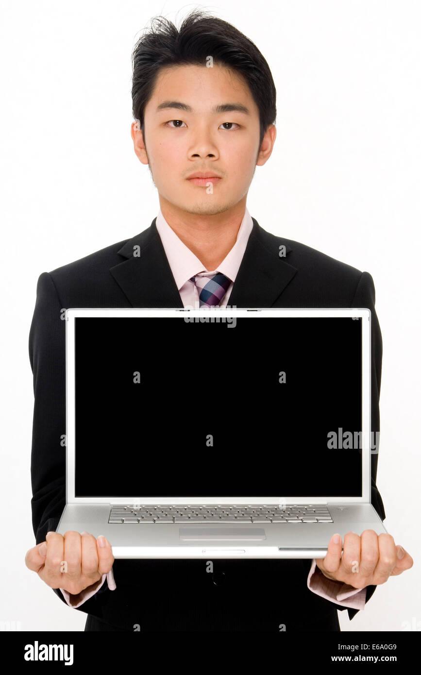 palmtop,display,computer monitor - Stock Image