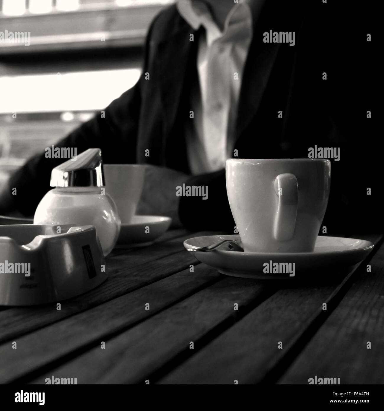 coffee,cafe,coffee cup - Stock Image