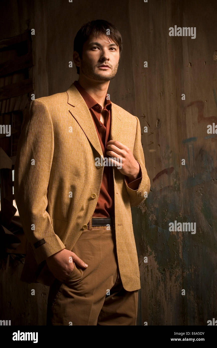 young man,man,fashion,accessories - Stock Image