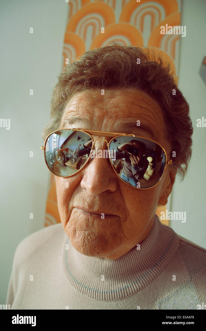 senior,individuality,uniqueness,active seniors - Stock Image
