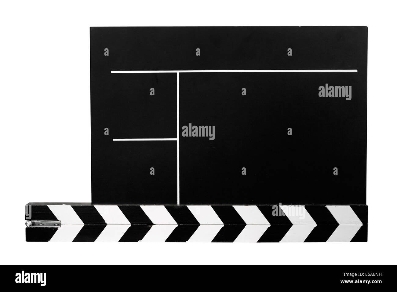 film slate,film industry,film technology - Stock Image