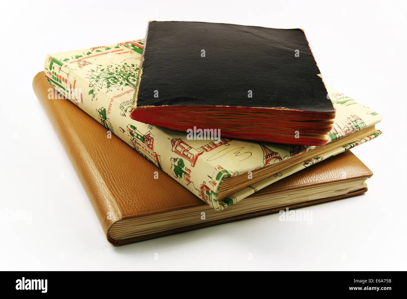 book,photo album - Stock Image