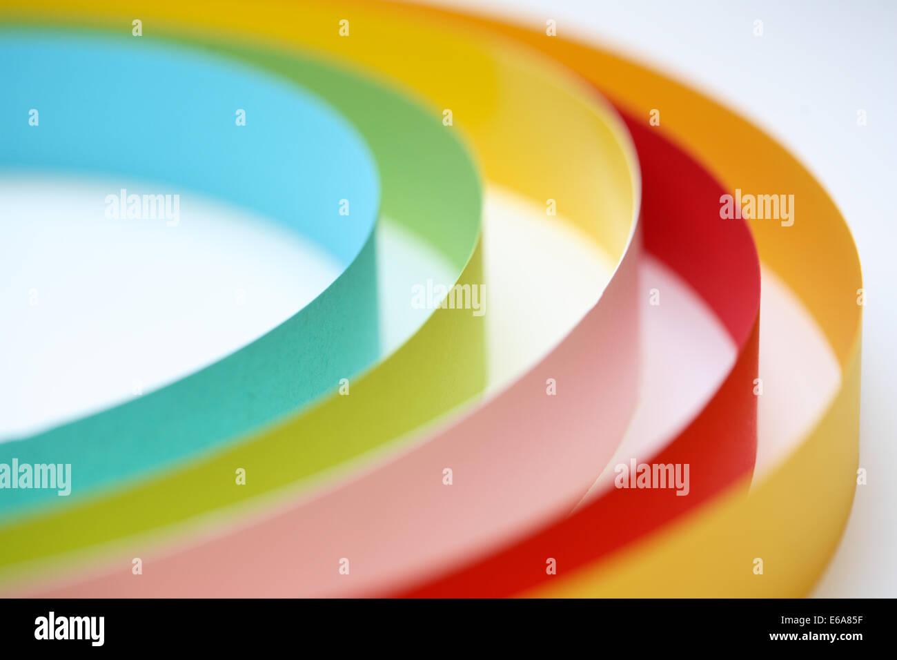 circular,round arch,labyrinth - Stock Image