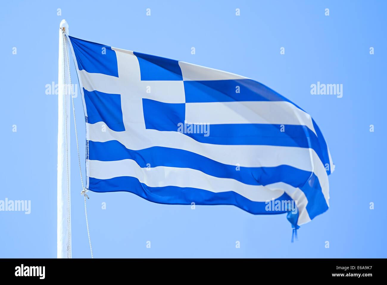 flag,greece,national flag - Stock Image