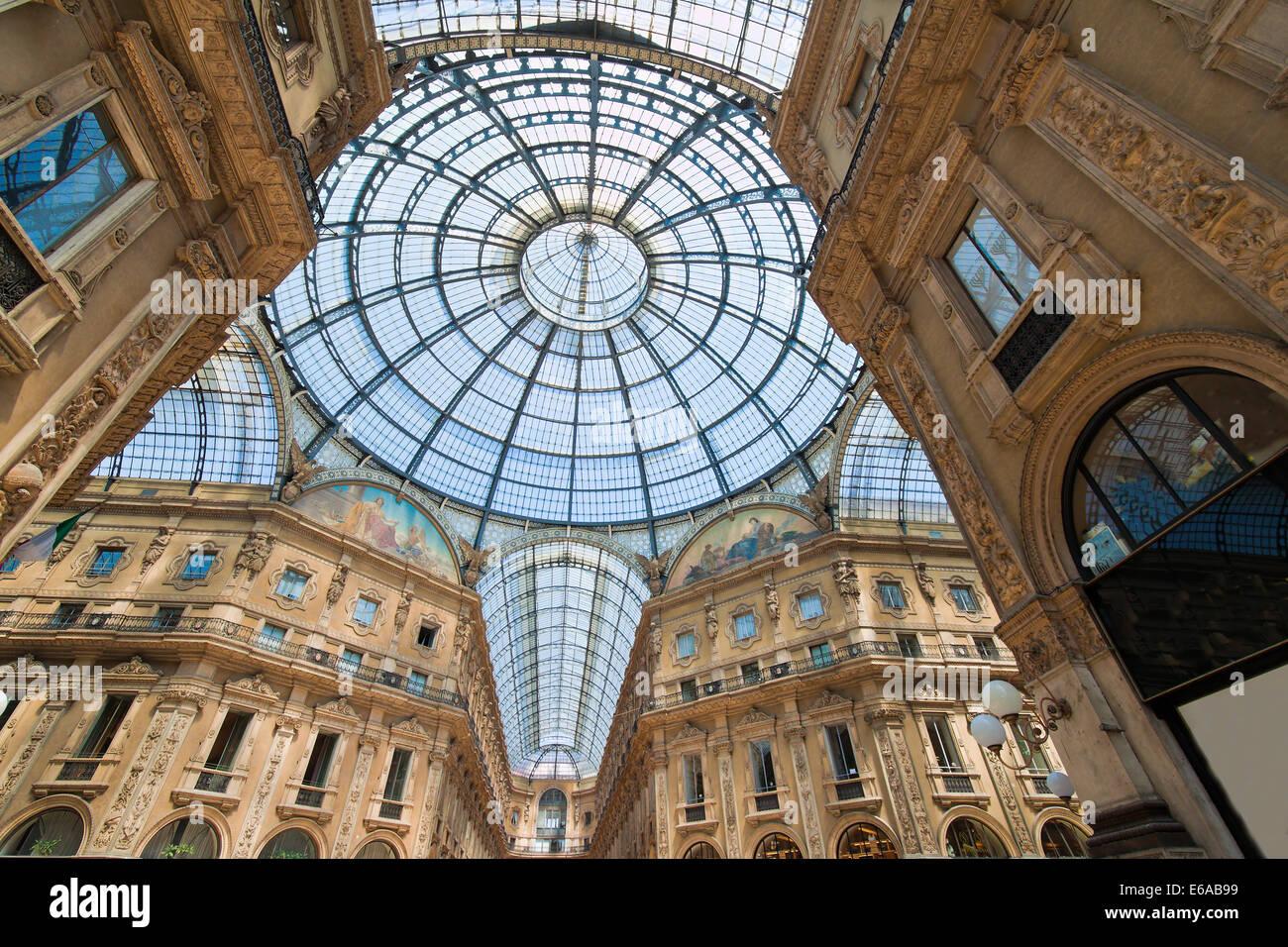 Milan Gallery Stock Photo Alamy