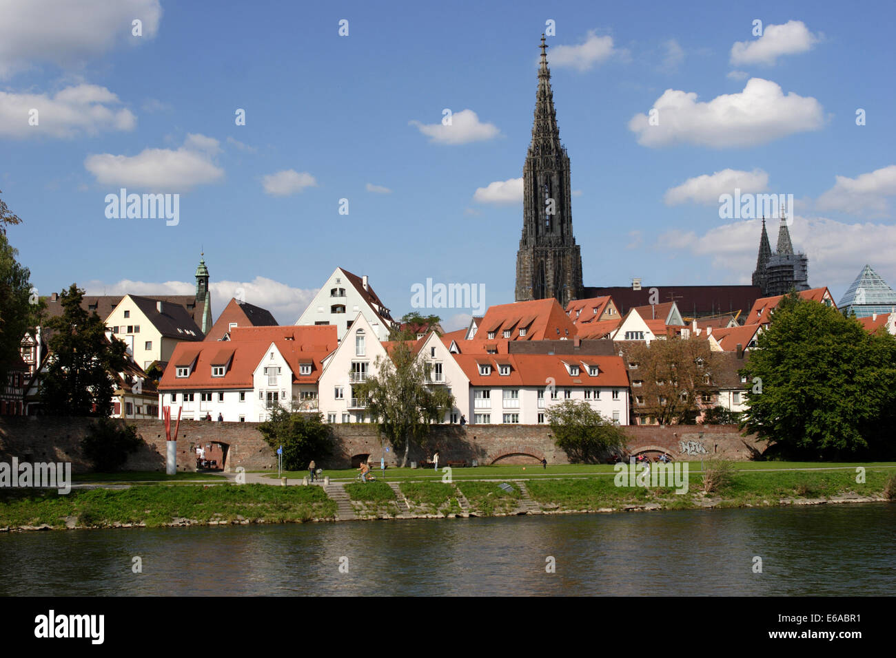 baden württemberg,ulm cathedral,ulm - Stock Image