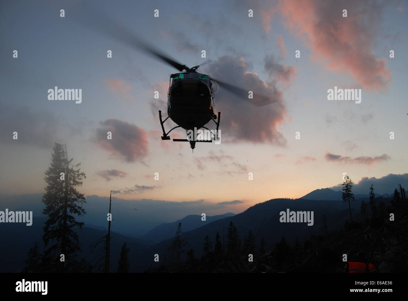 rescue,mountain rescue,medevac - Stock Image