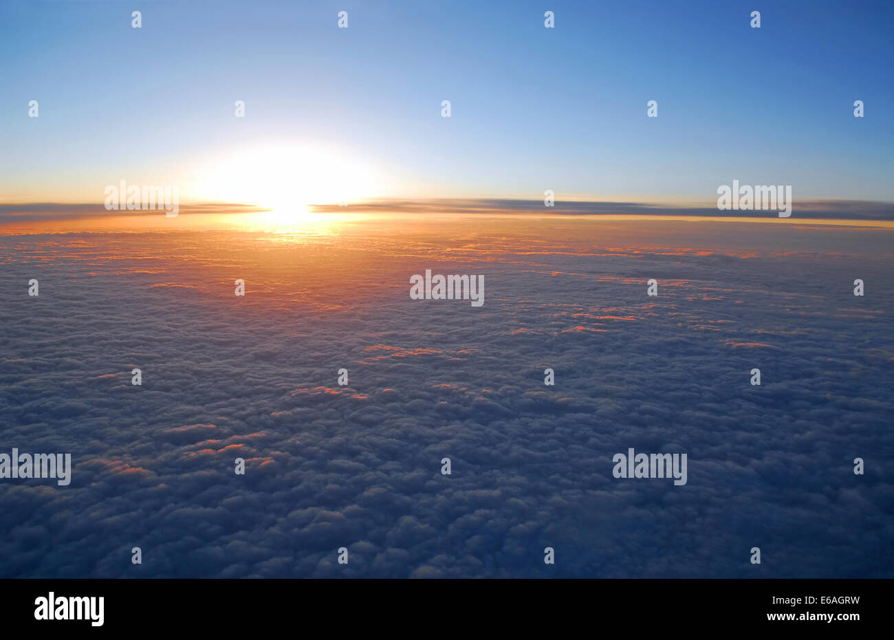 clouds,firmament,cloudscape - Stock Image