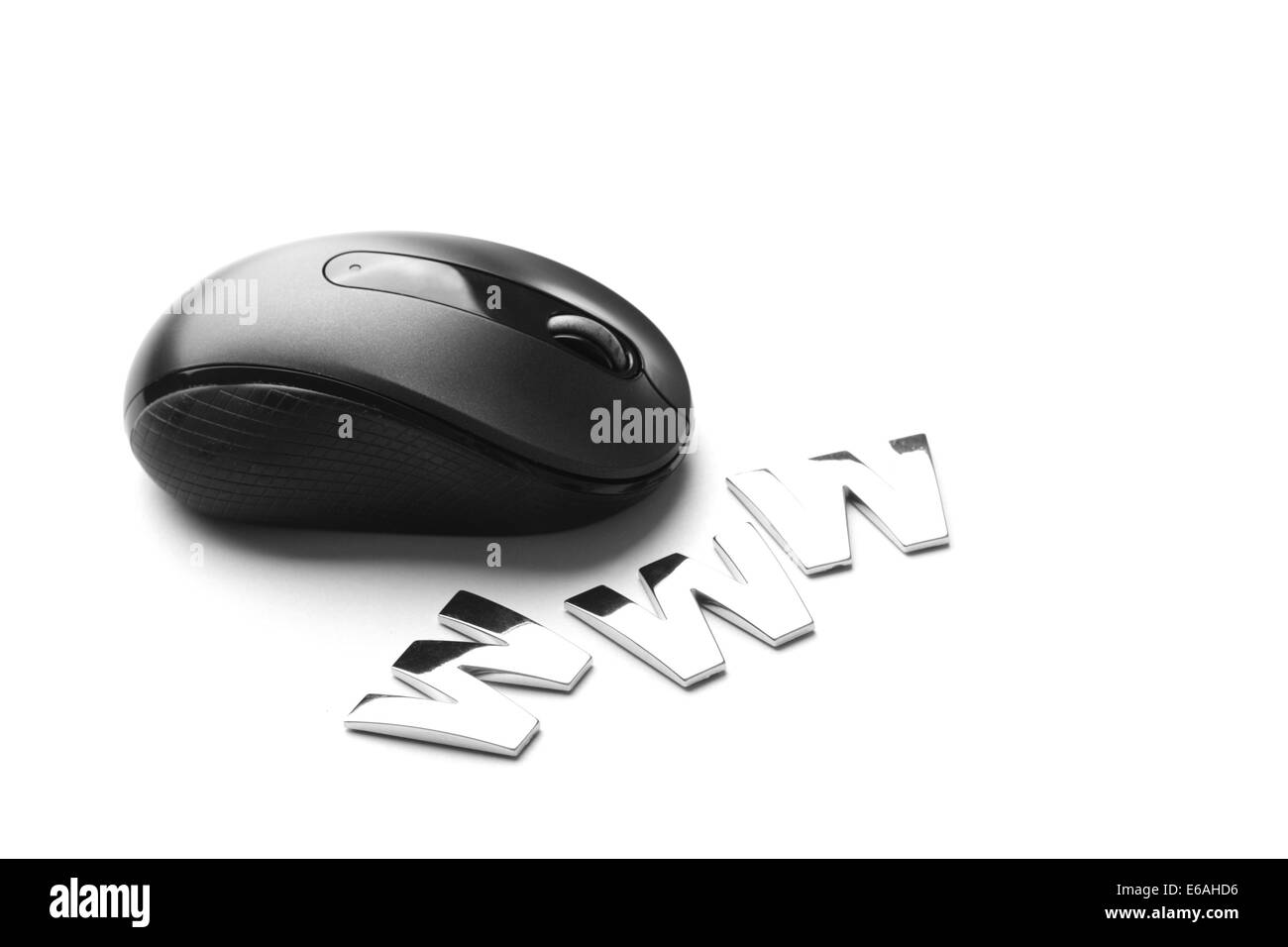 computer mouse,internet - Stock Image