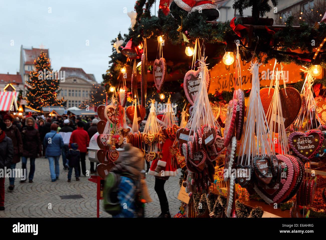 Berlin Spandau Weihnachtsmarkt Markt - Stock Image