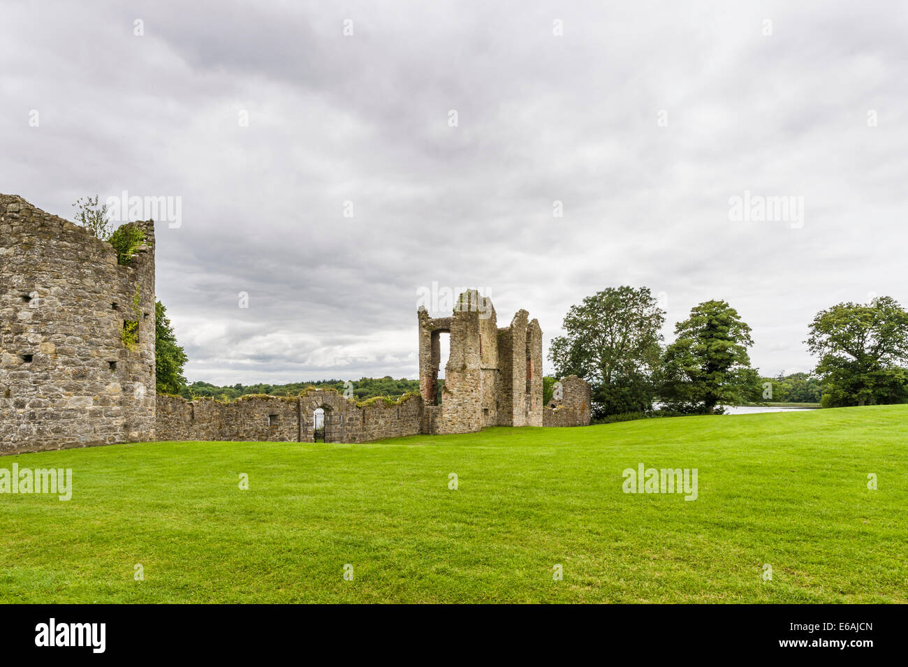 Crom Castle, Co Fermanagh, Northern Ireland - Stock Image