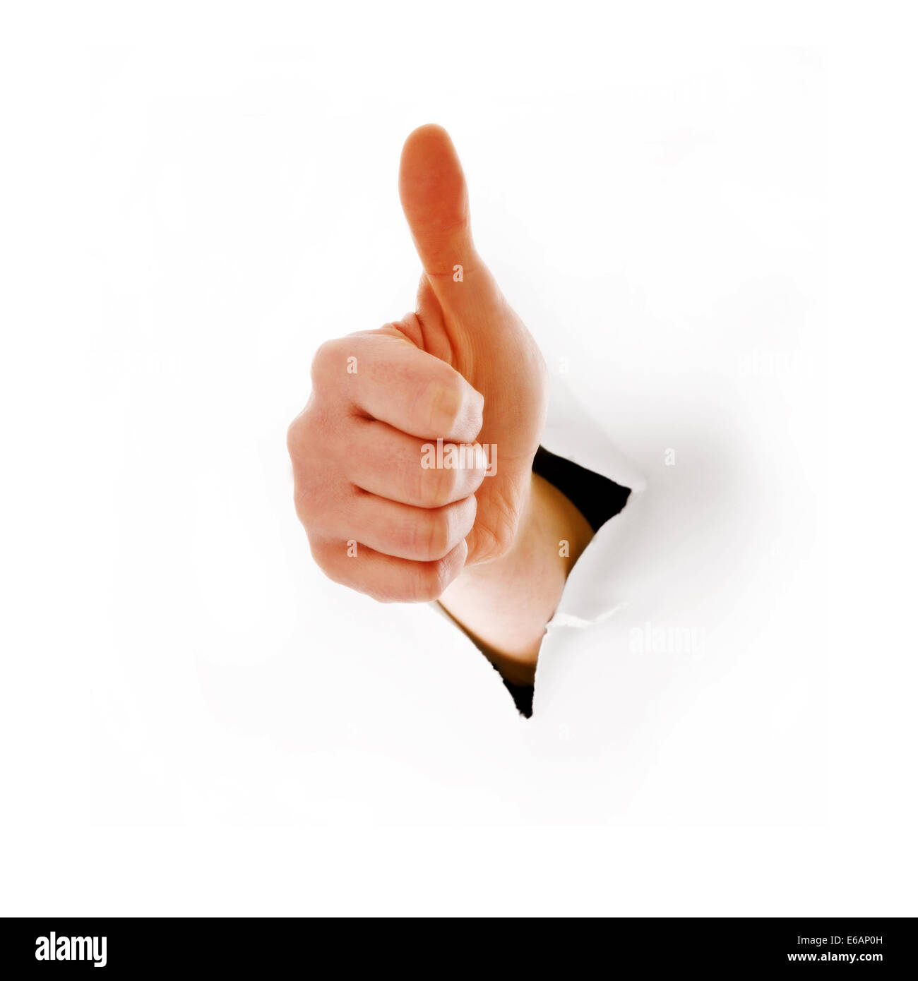 successful,thumbs up,consent, compliance,sign language Stock Photo