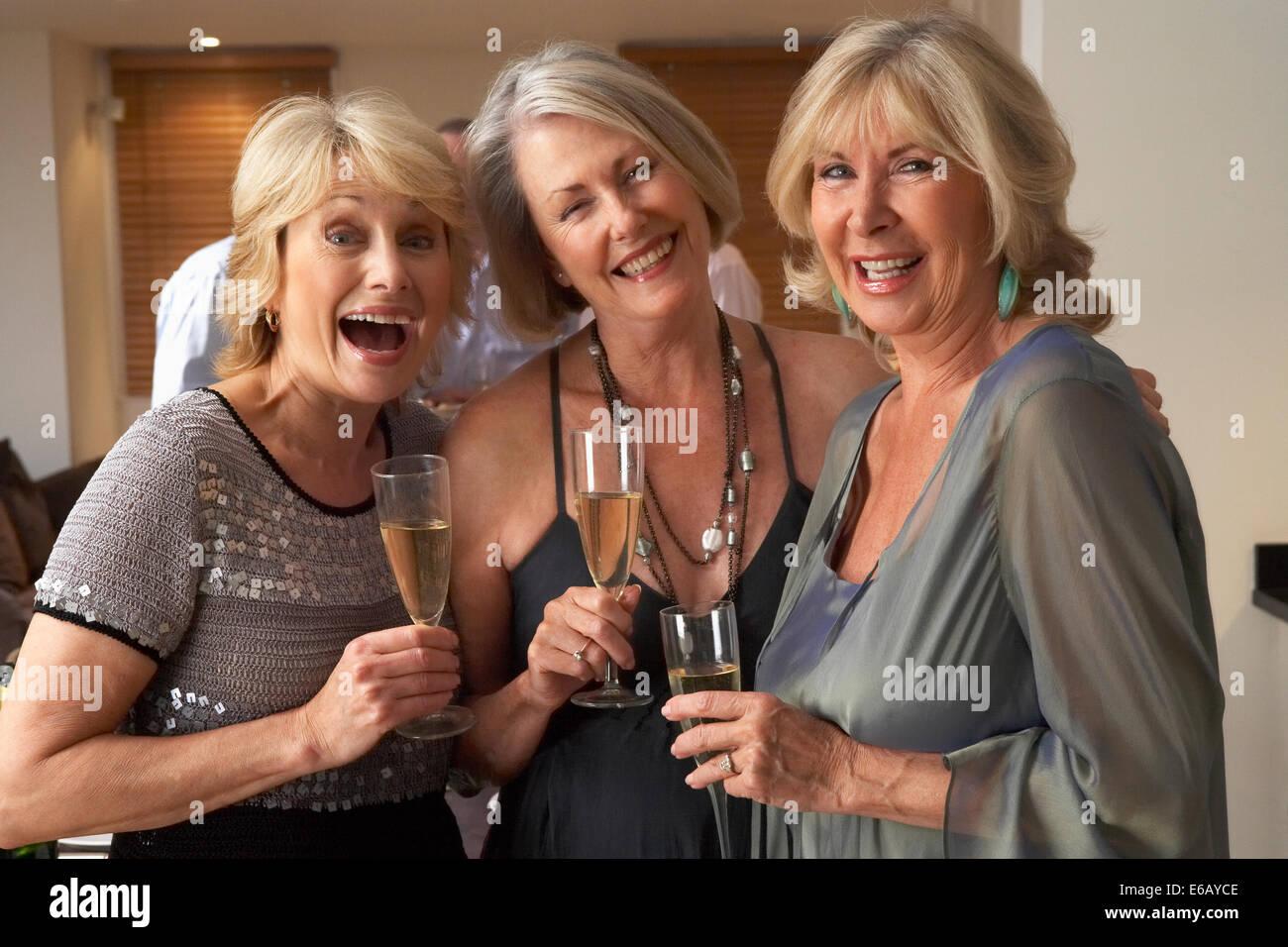 celebrations,friends,sociability - Stock Image