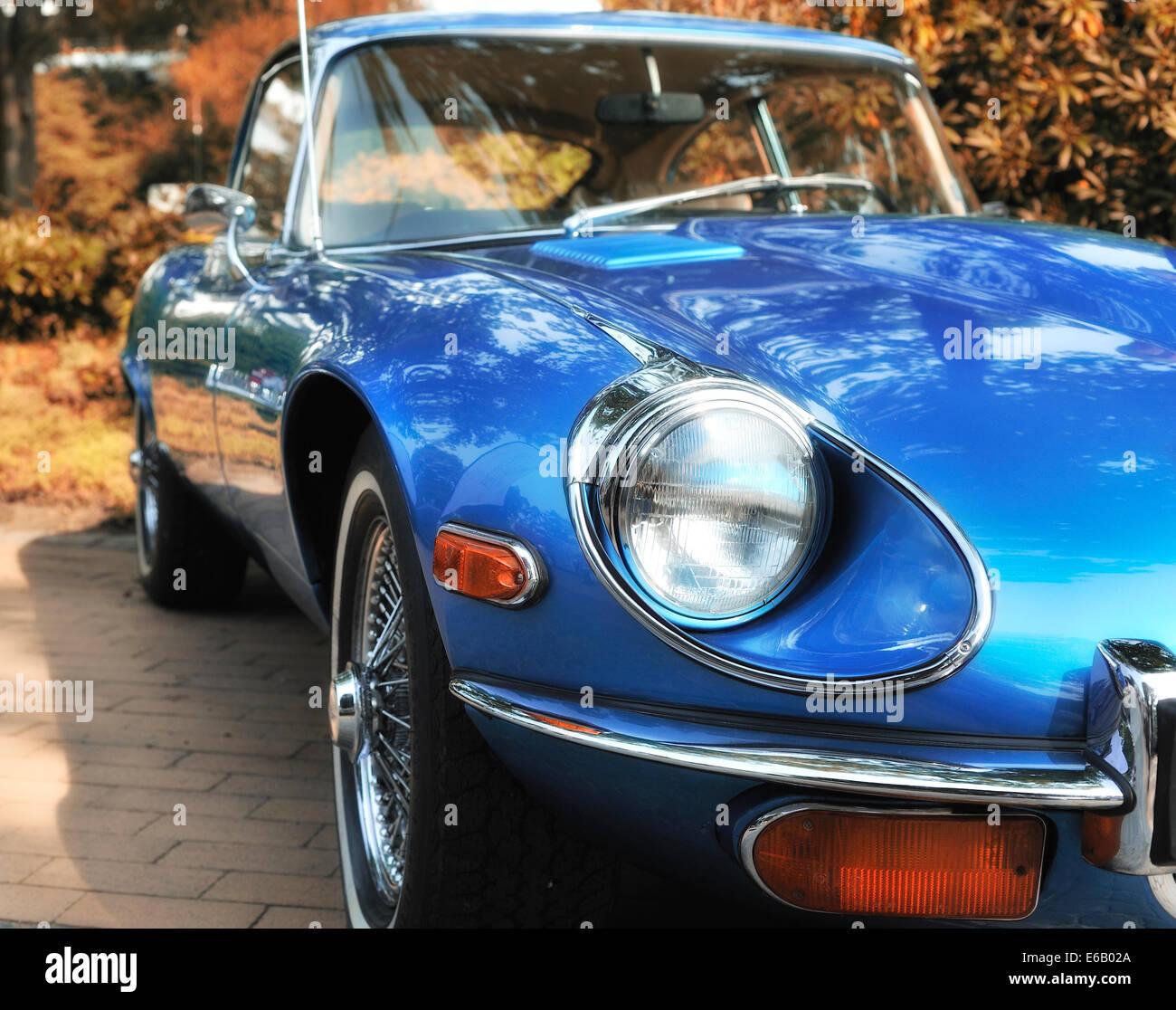 oldtimer,sports car - Stock Image