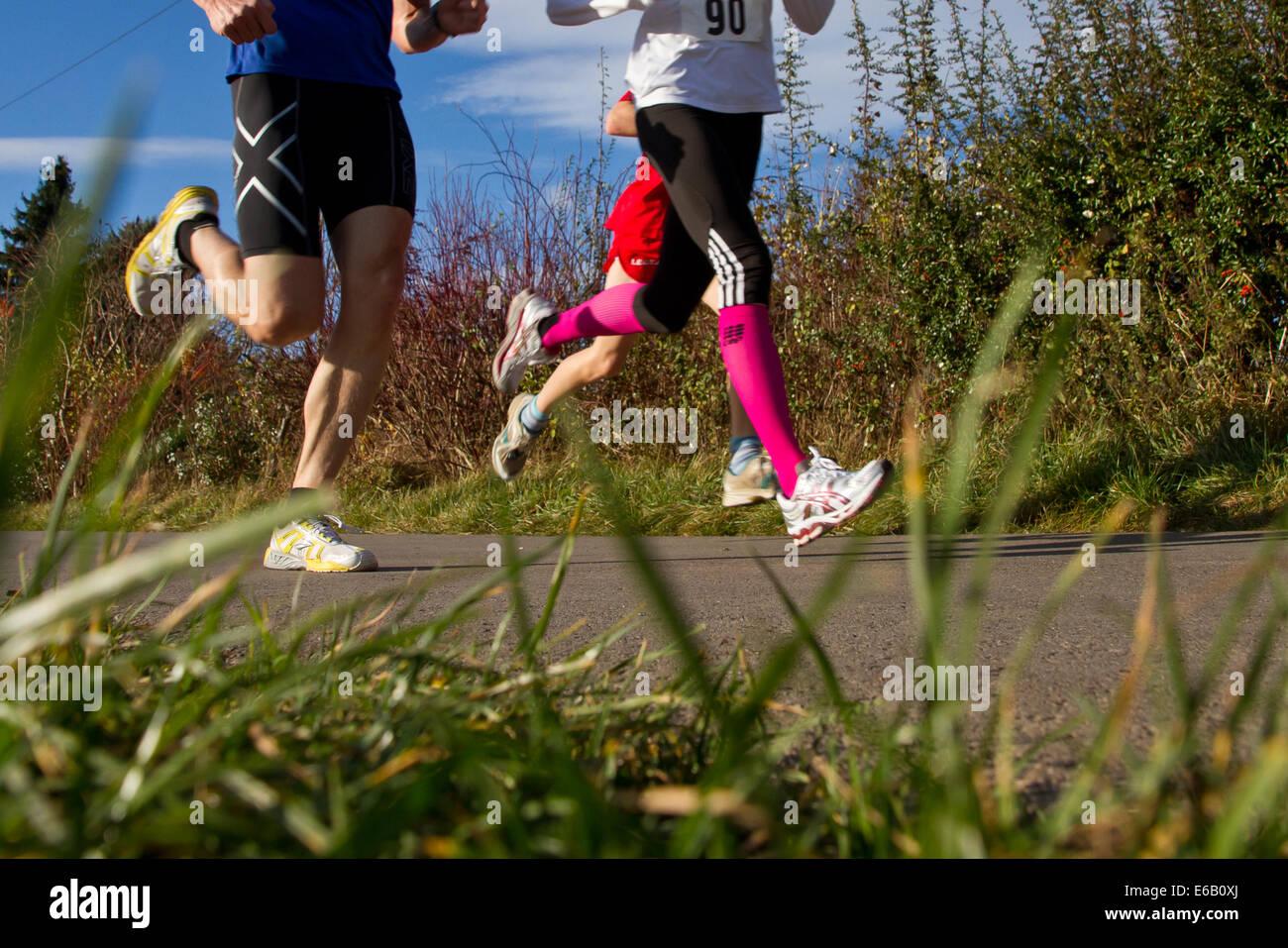run,runner - Stock Image