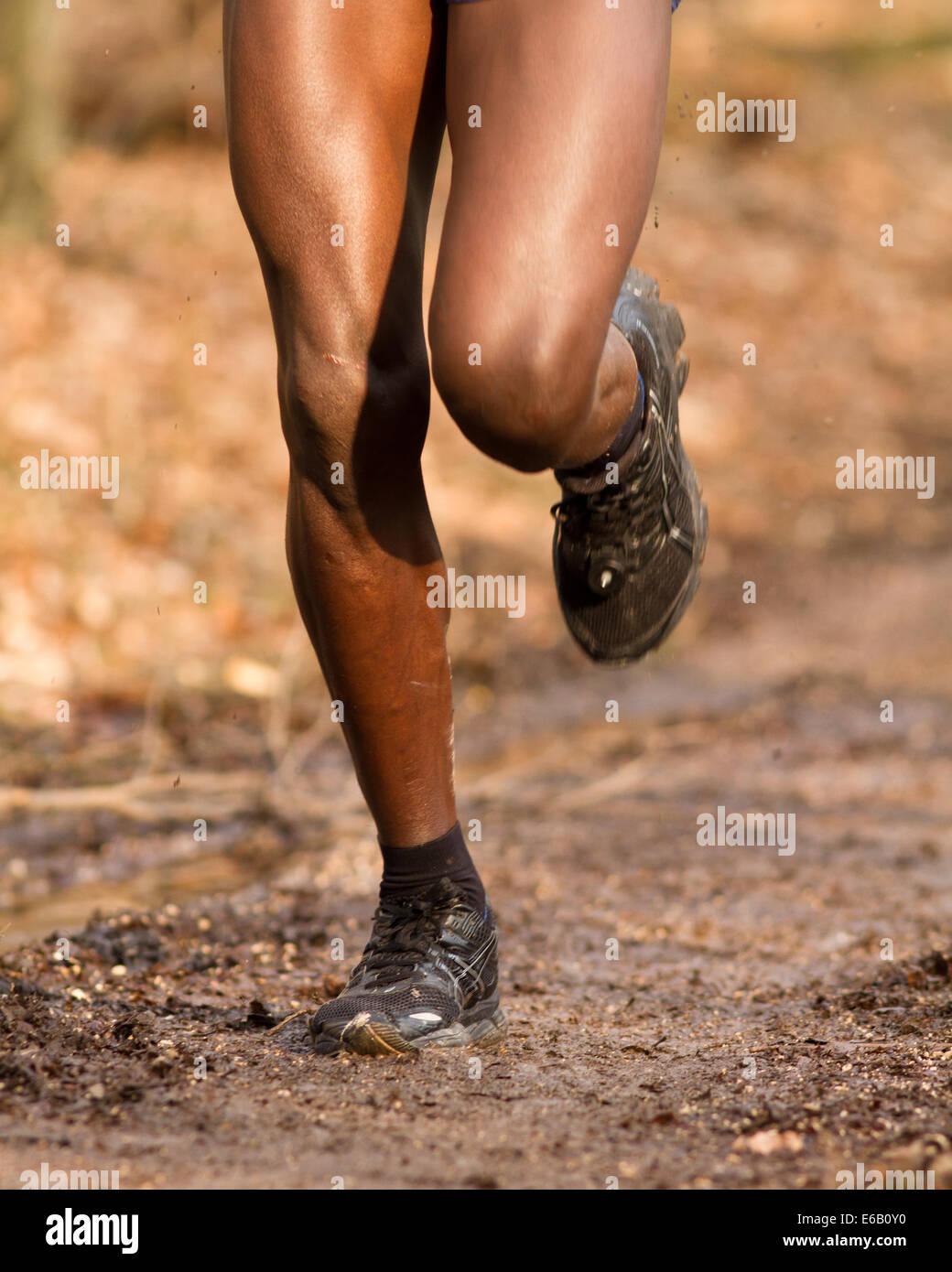 sports,fitness,legs,running,cross running - Stock Image