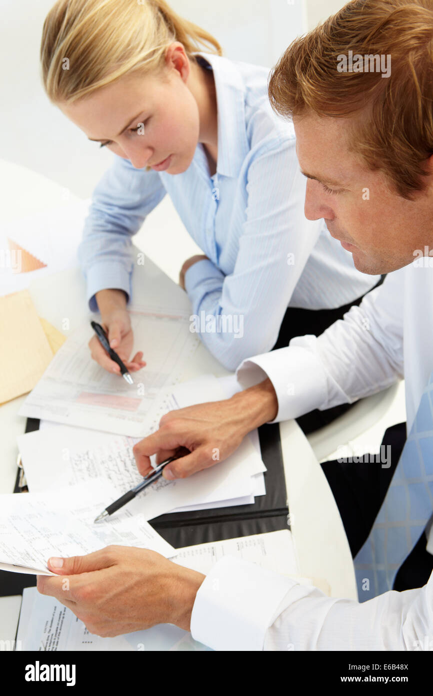 business woman,meeting,conversation,colleague - Stock Image