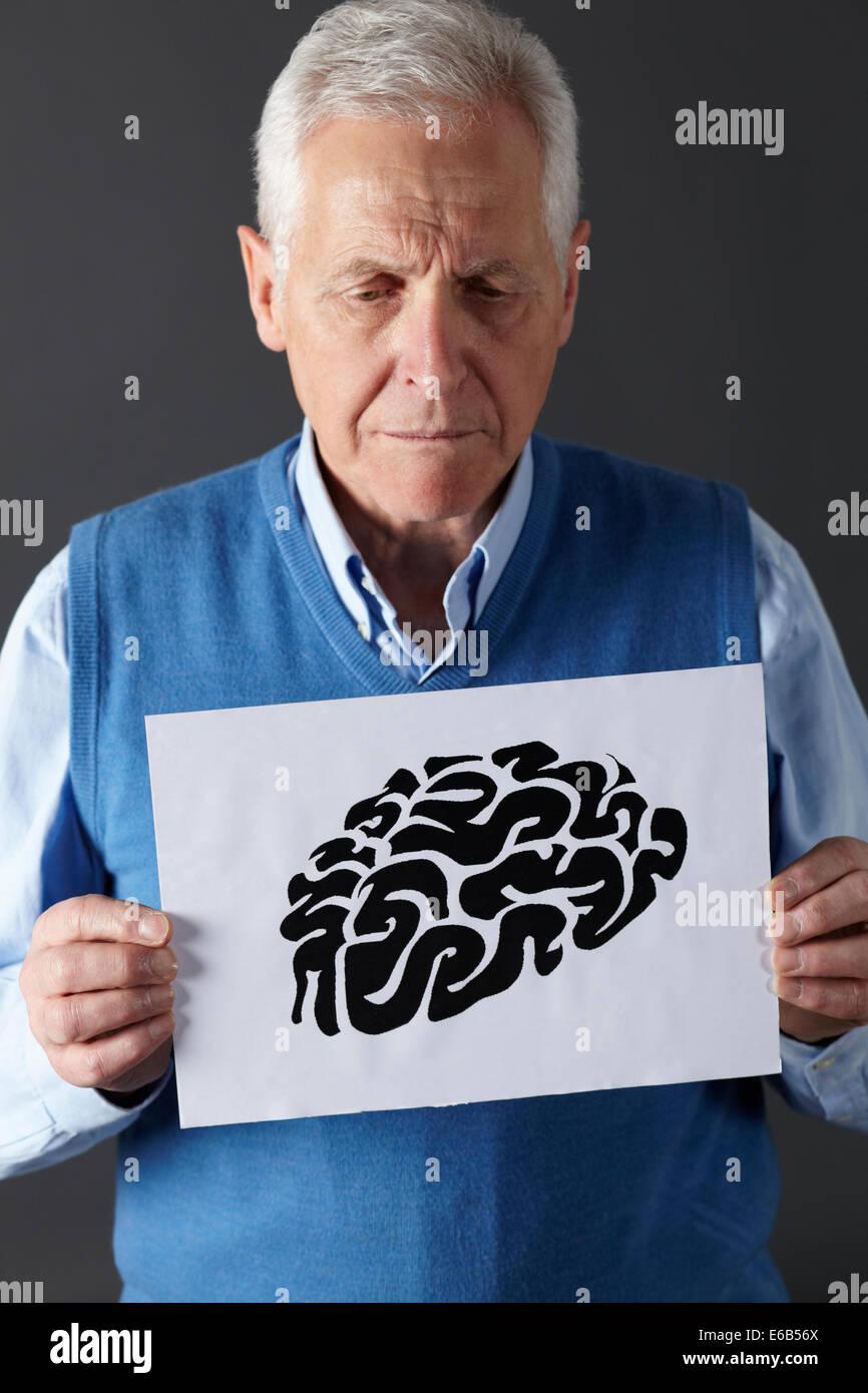 memory,brain,psychology,neurology - Stock Image