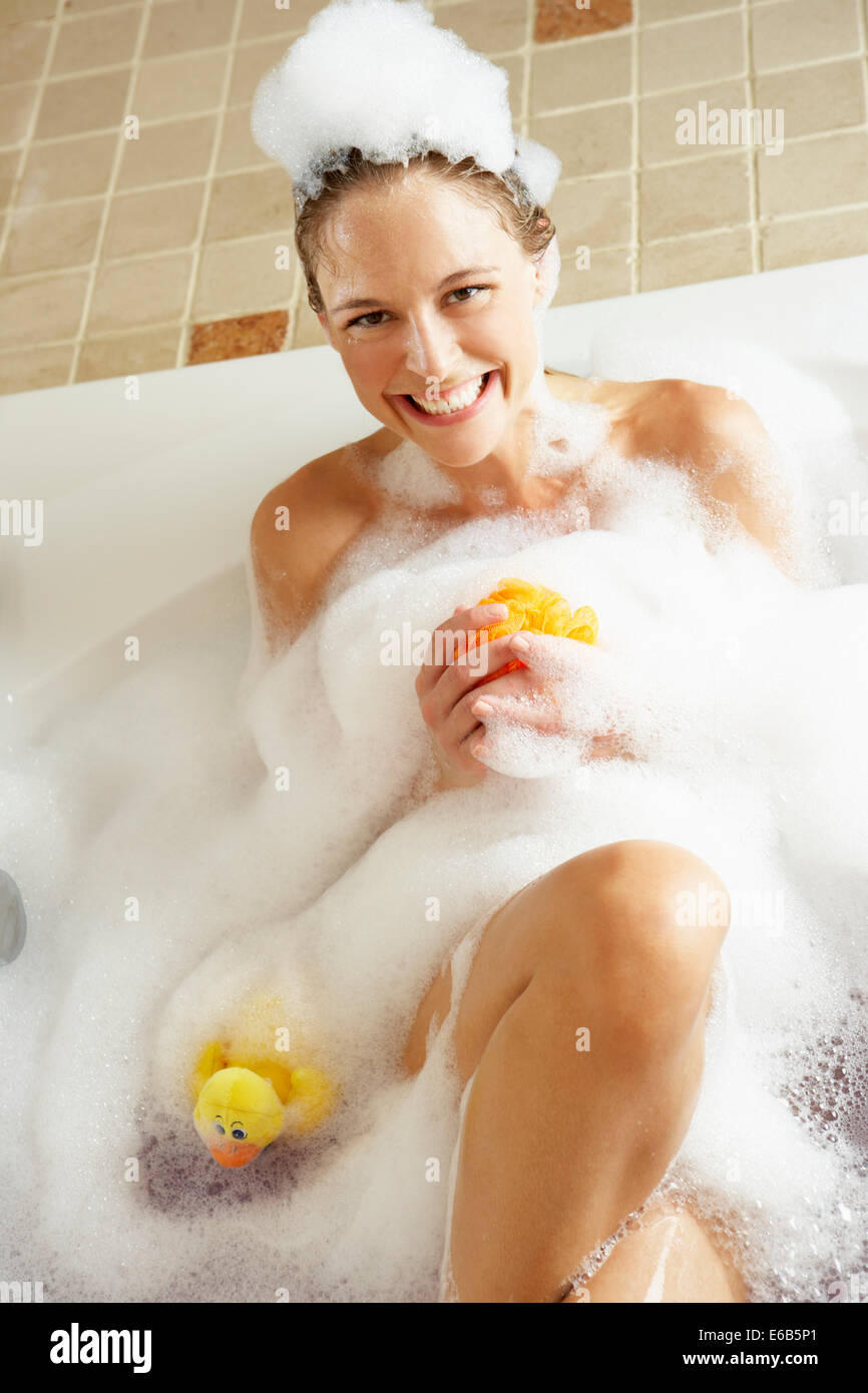 Middle Aged Female Bath Stock Photos & Middle Aged Female Bath Stock ...