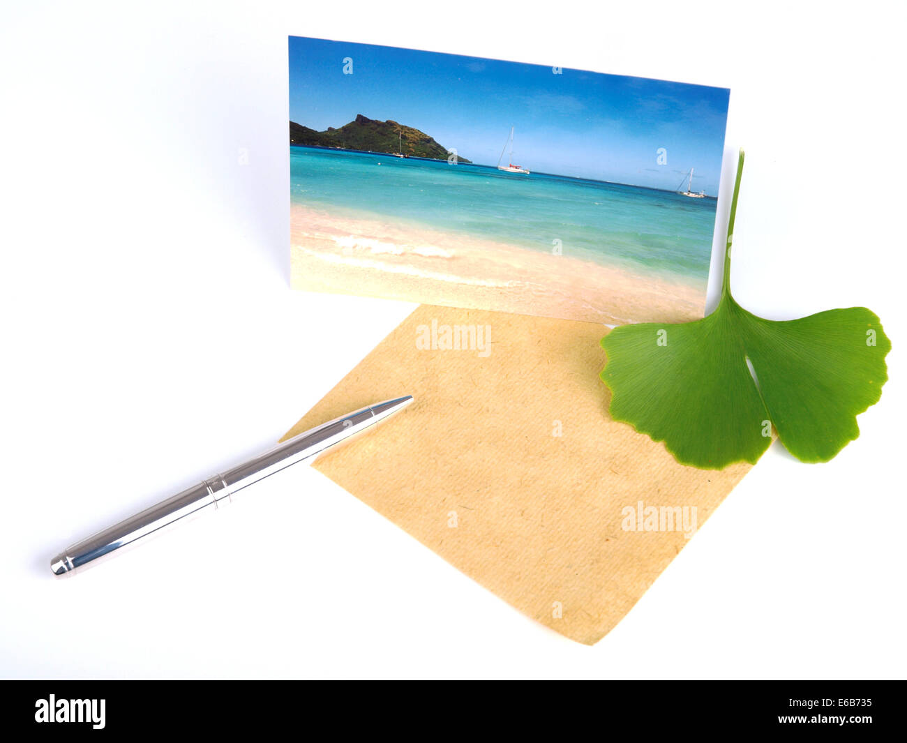 postcard,holiday greetings - Stock Image