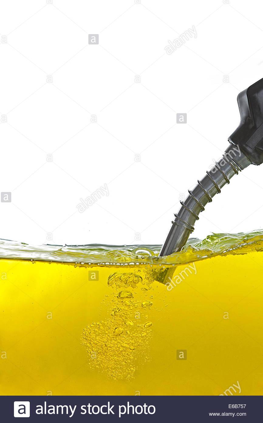 gasoline,refueling,tap - Stock Image