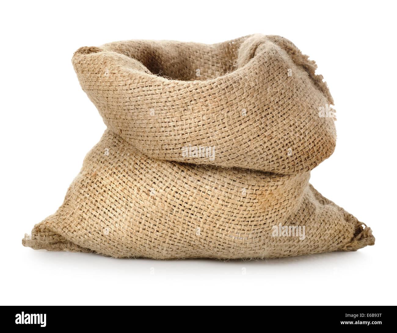 sack,jute bag - Stock Image