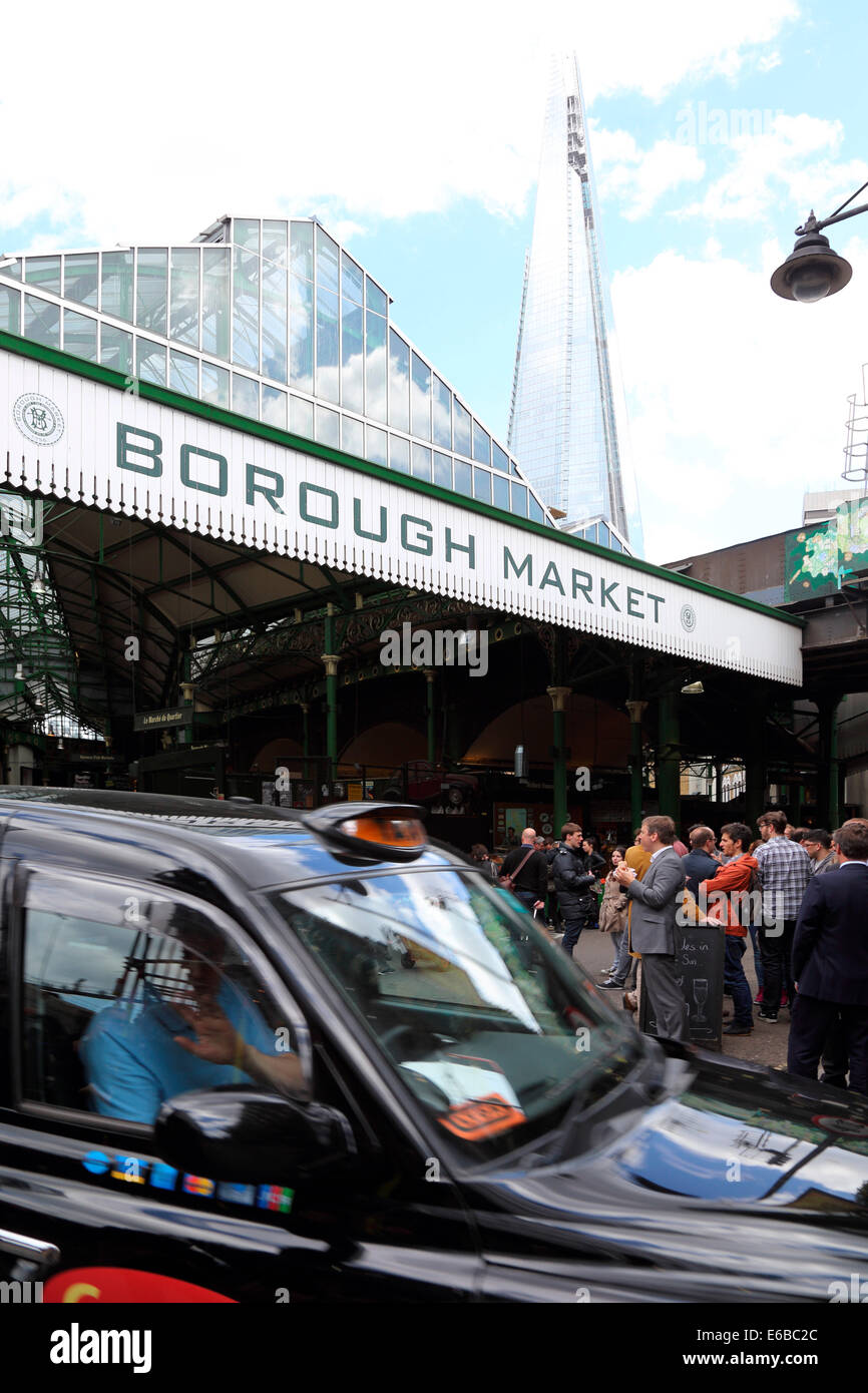 Großbritannien Great Britain London Borough Market - Stock Image