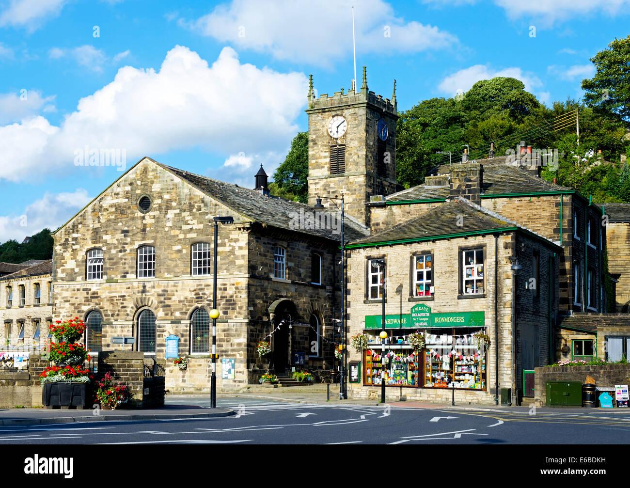 Holmfirth, West Yorkshire, England UK - Stock Image