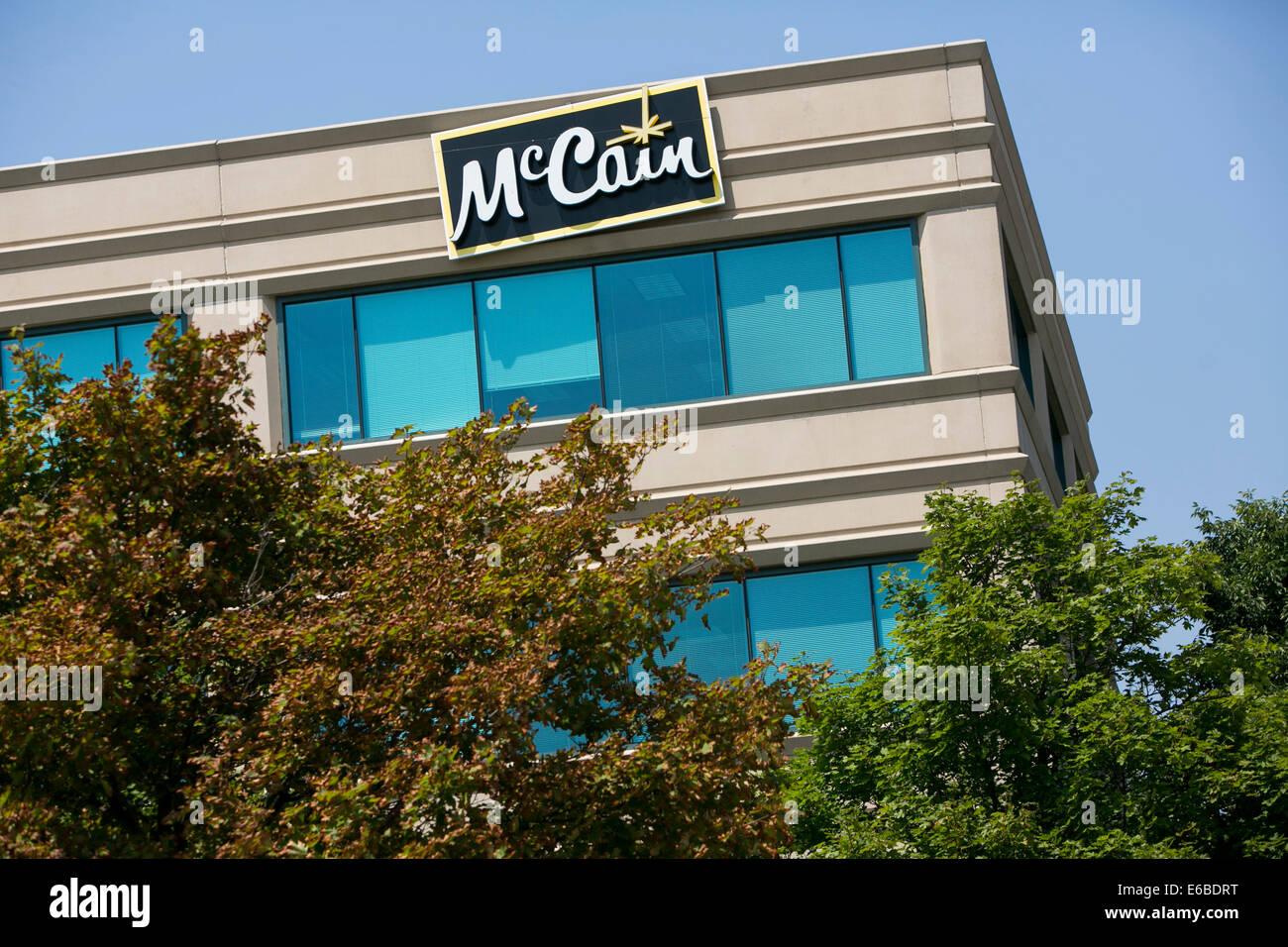 The headquarters of McCain Foods USA in Lisle, Illinois