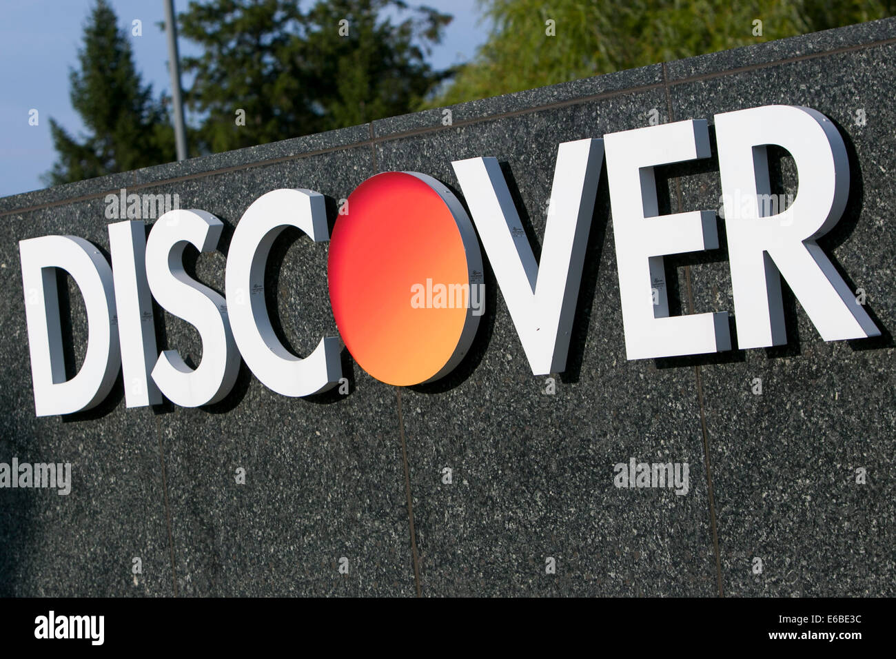 The headquarters of Discover Financial Services in Riverwoods, Illinois. - Stock Image