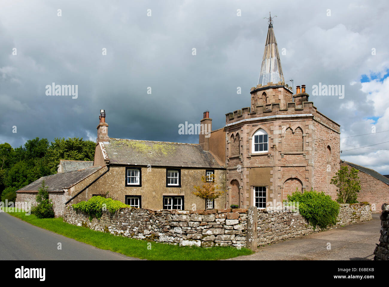 Spire House, near Greystoke, Cumbria, England UK - Stock Image
