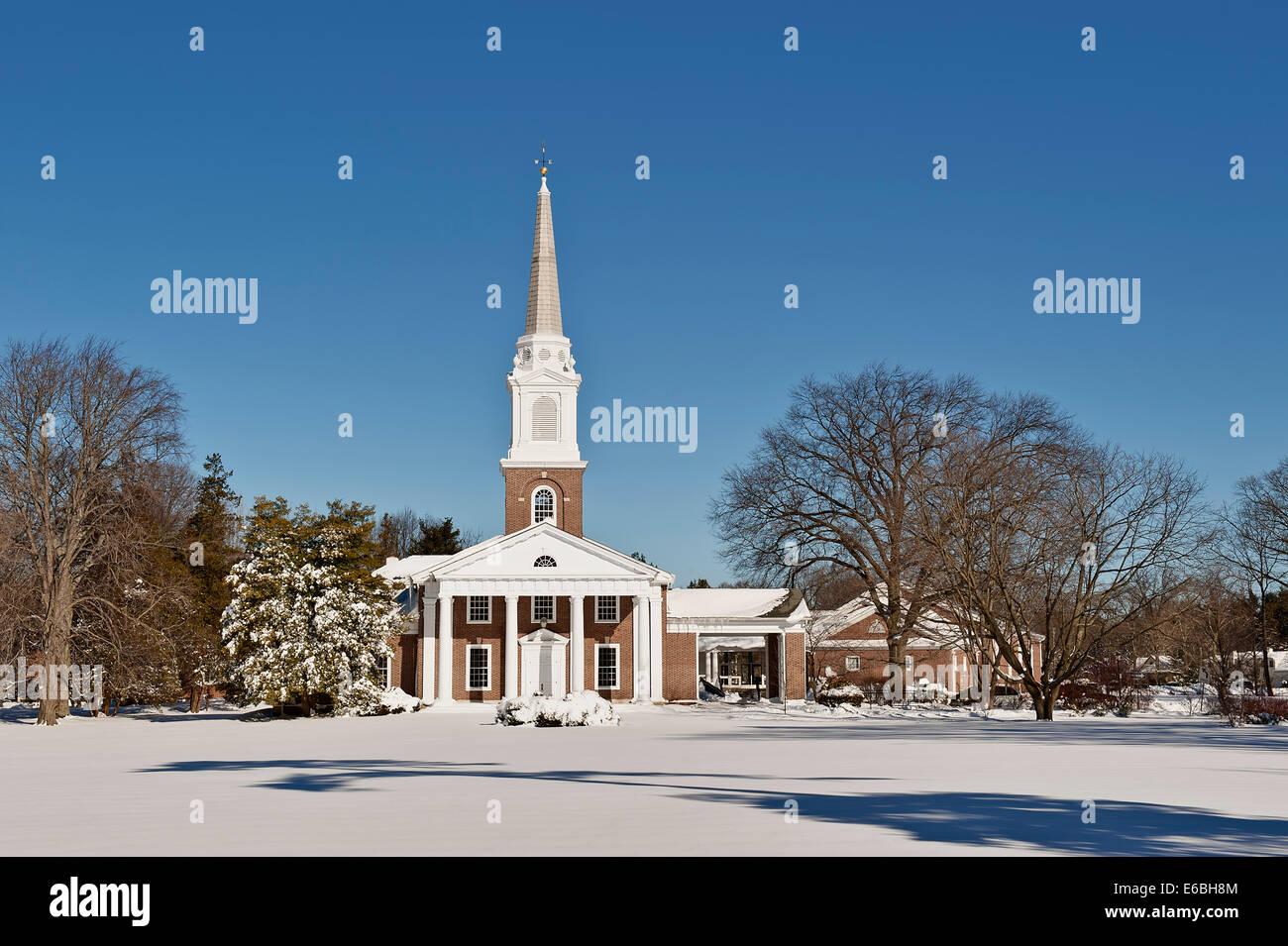 Church Snow Usa Stock Photos & Church Snow Usa Stock Images