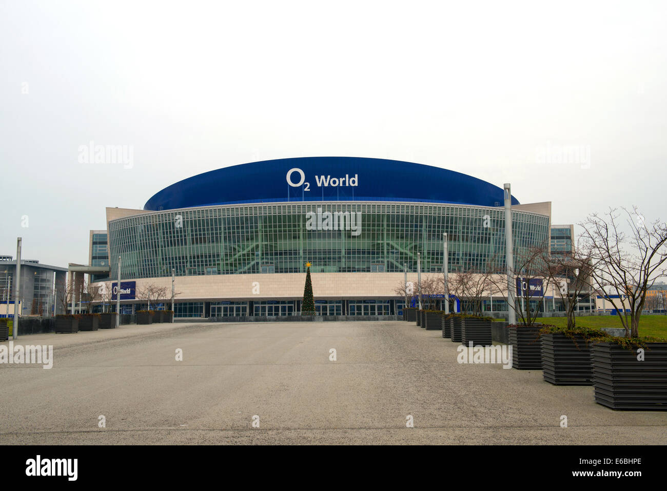 O2 World Arena is the largest hockey palace in Berlin, Germany - Stock Image