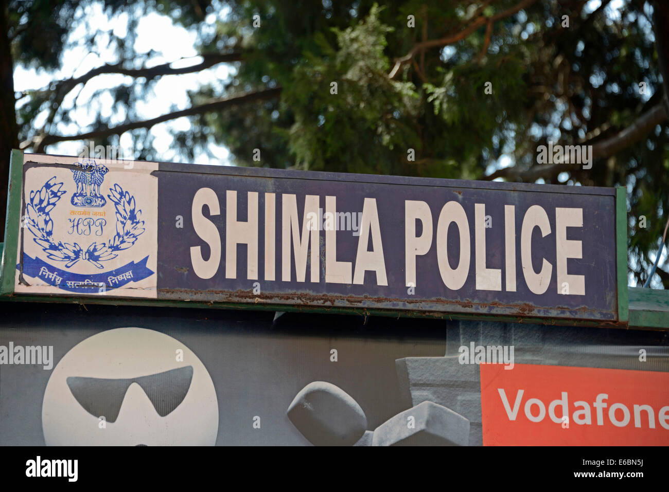 Shimla Police Head-quarters (H.Q) in Shimla, Shimla,Himachal Pradesh,India,   In 186 - Stock Image
