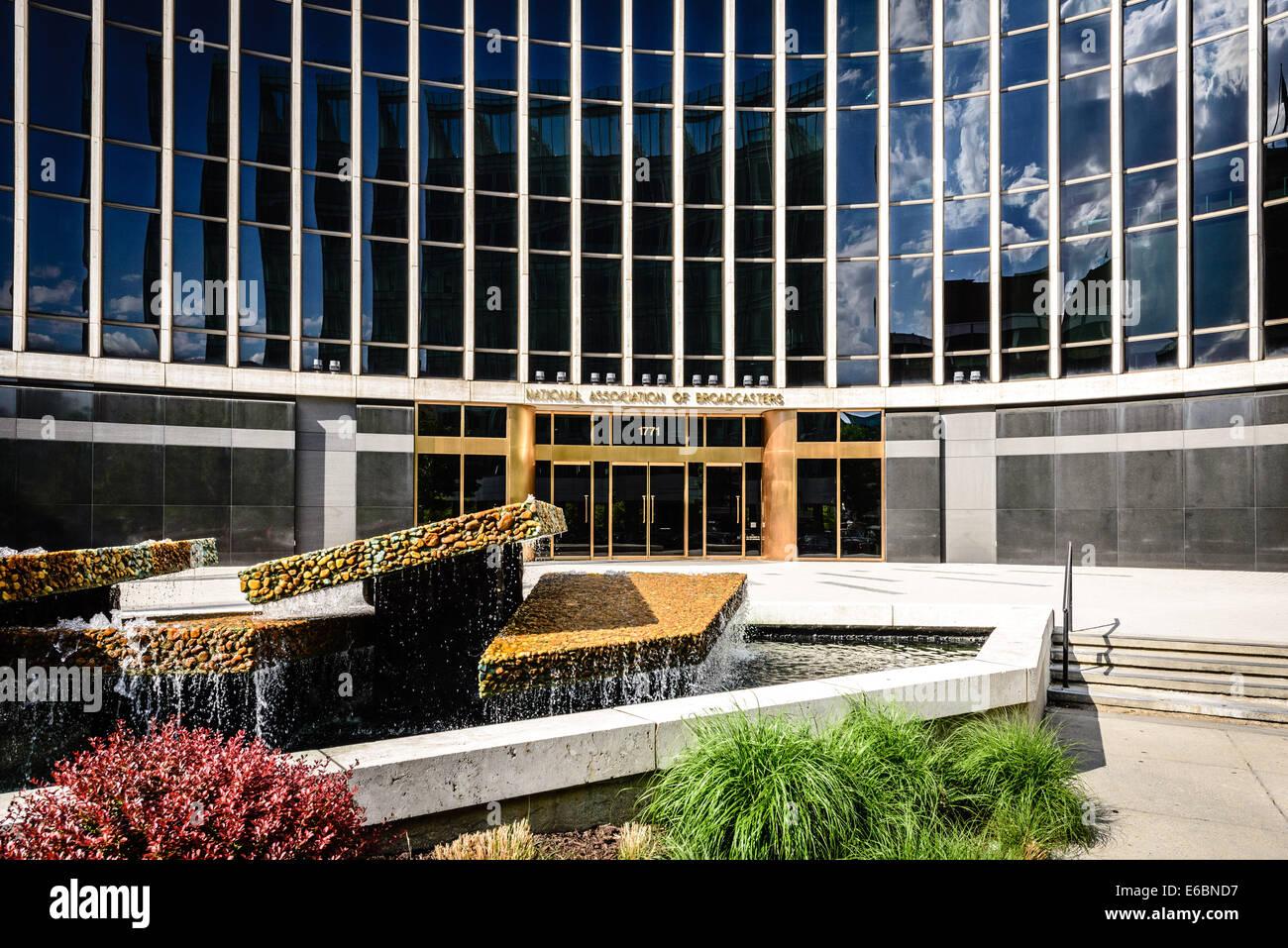 National Association of Broadcasters Headquarters, 1771 N Street NW, Washington DC Stock Photo