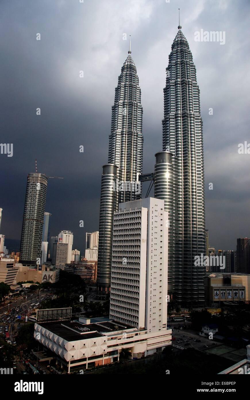 KUALA LUMPUR, MALAYSIA: The magnificent Petronas Towers