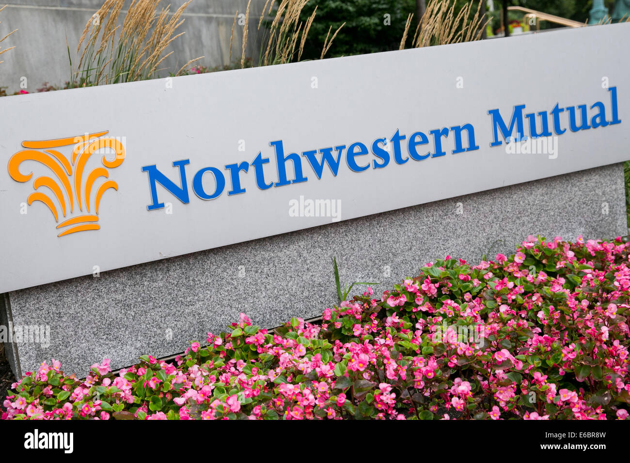 The headquarters of Northwestern Mutual in Milwaukee, Wisconsin. - Stock Image