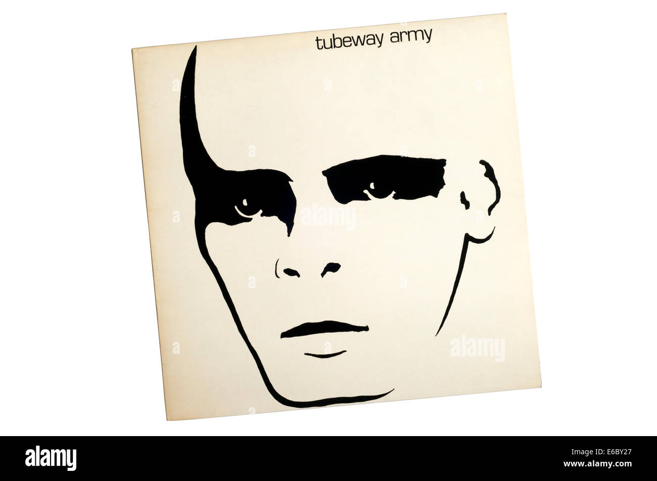 Tubeway Army was the eponymous debut album by Tubeway Army, released in 1978. - Stock Image