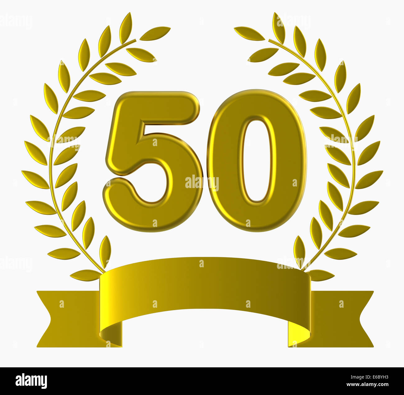 Happy 50th Birthday Cut Out Stock Images & Pictures