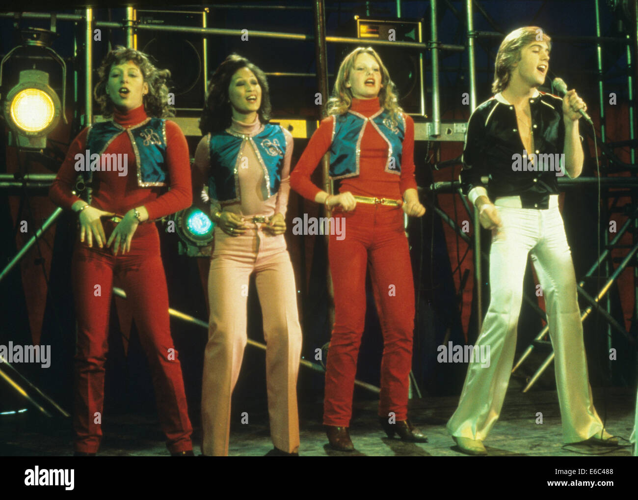SHAUN CASSIDY US singer about 1976 - Stock Image