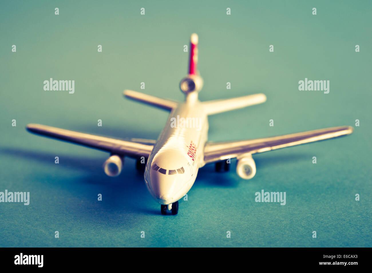 model airplane vintage - Stock Image
