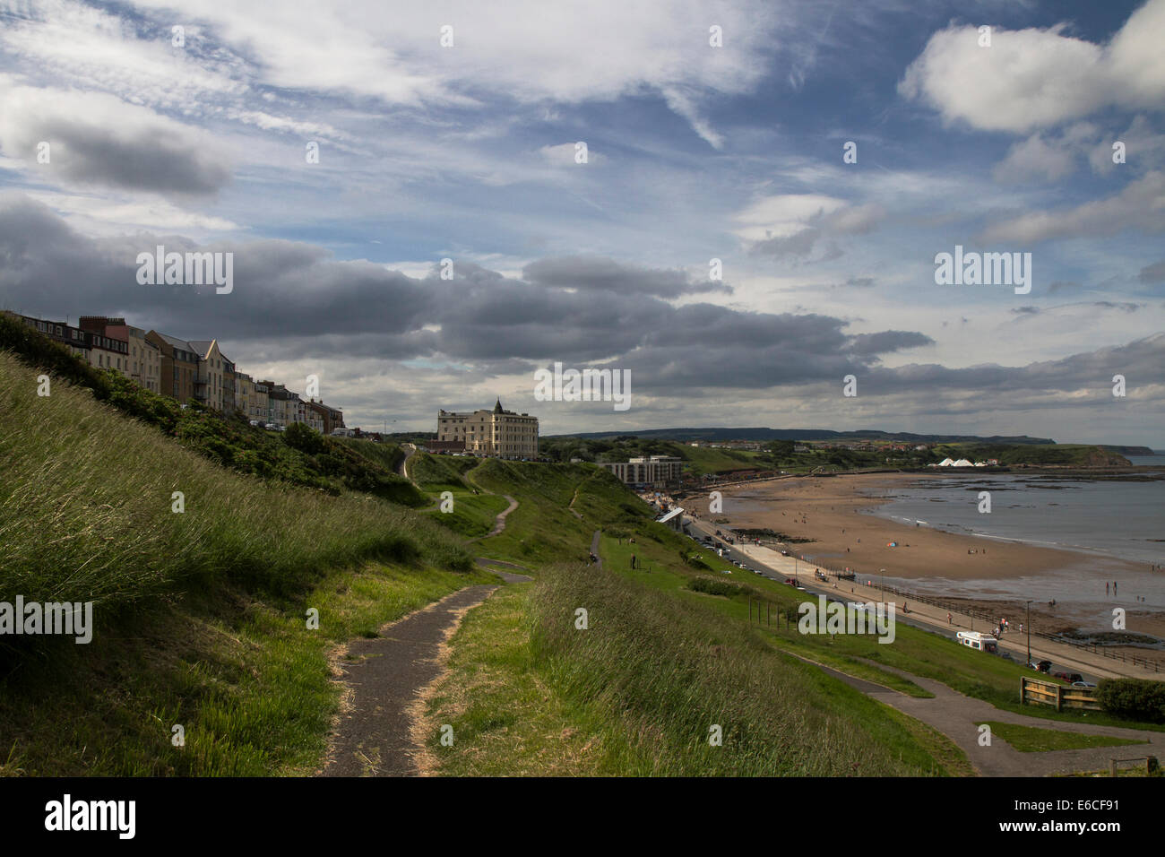 View of Scarborough North Bay - Stock Image