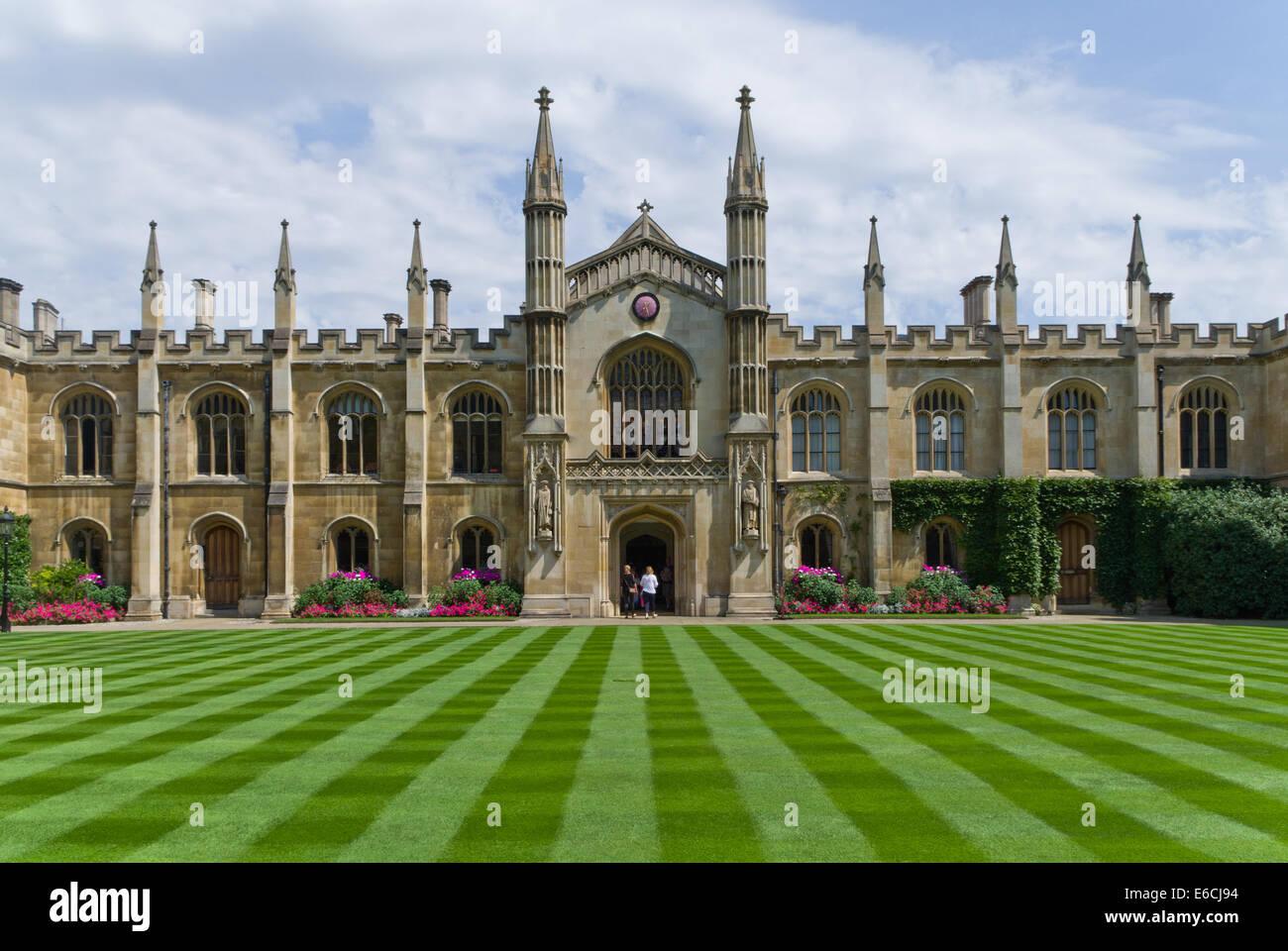 New Court, Corpus Christi College, Cambridge, UK - Stock Image